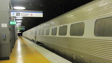 Tåg 10575 på Arlanda C