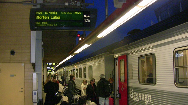stockholm narvik train price