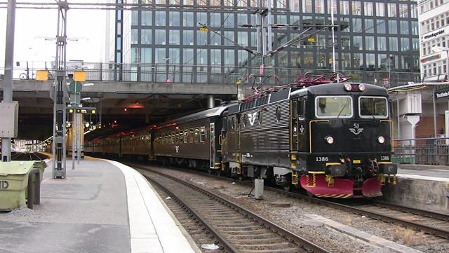 liggvagn på tåg