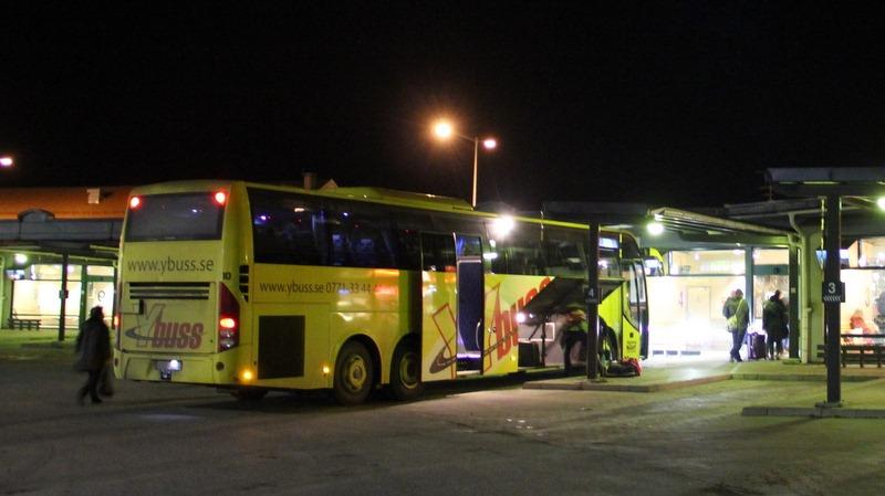 buss örnsköldsvik umeå