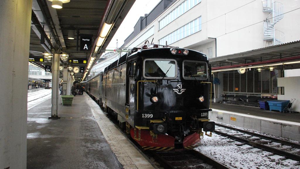 nattåg från stockholm till malmö