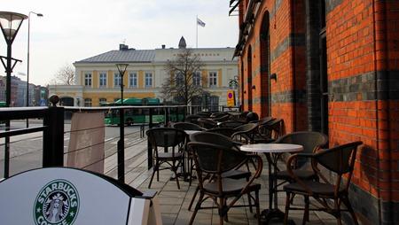 Starbucks på Malmö C