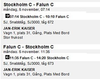 billiga tågbiljetter till stockholm sj