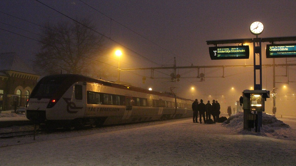 sj regionaltåg vagnar