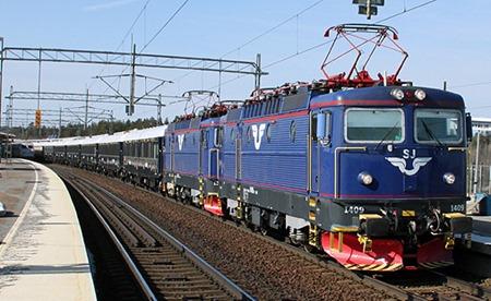 Läsarbild Sveriges förmodligen mest fotograferade tåg i år