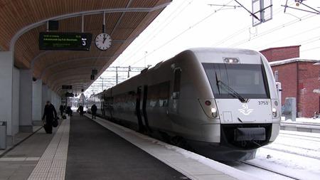 SJ 3000 i Umeå