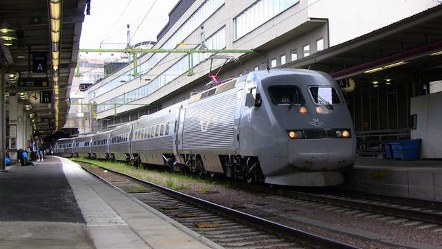 sj tåg till göteborg