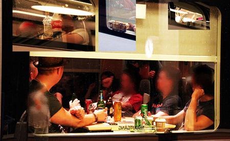 Medhavd alkohol förbjudet förtära på SJs tåg ( Läsarbild )