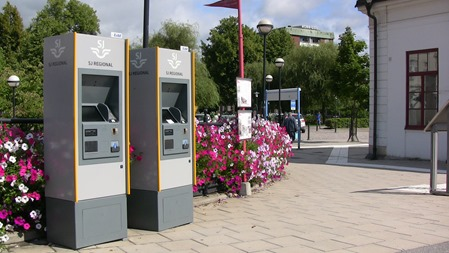 Regionalbiljettautomater i Katrineholm
