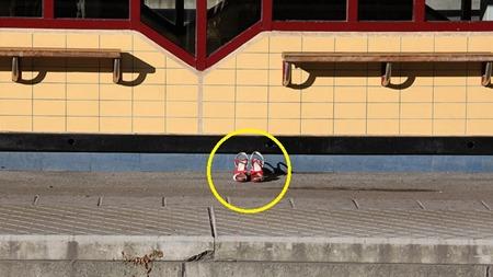 Populärt ställe att placera skorna på ( Läsarbild )