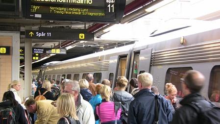 Resenär på Stockholm C