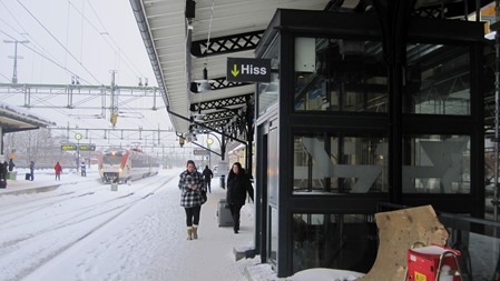 Gävle C en kall vinterdag 2011