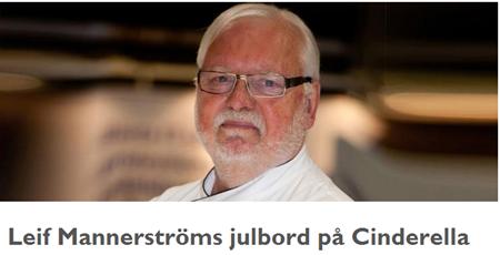 Leif Mannerström har stigit av tåget och gått till sjöss
