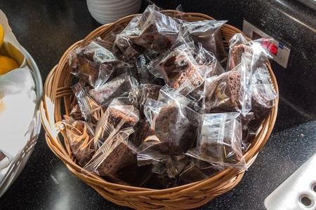 Brownies  i 1 klass på SJ Snabbtåg