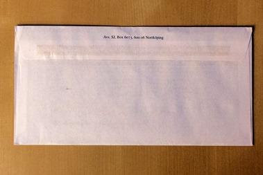 """Det """"ofrankerade"""" brevet från SJ"""