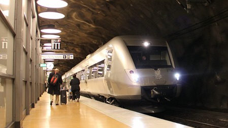SJ 3000 på Arlanda C ( Arkivbild )