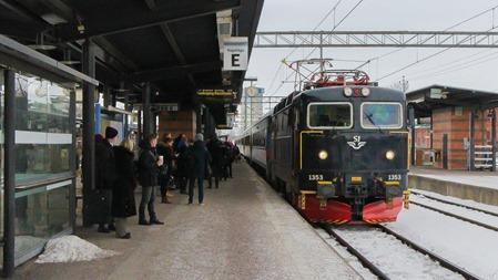 Tåg 200 i Linköping ( Arkivbild )
