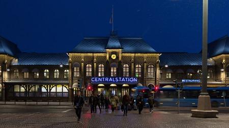 Centralstationsskylt på rätt sida denna gång