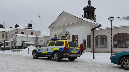 Polisingripande på Katrineholm C