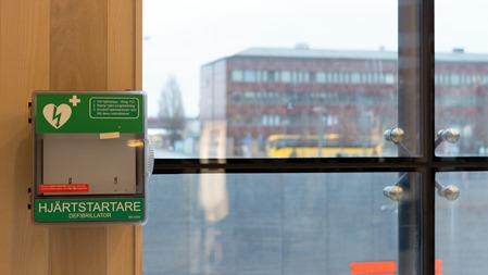Åttonde hjärtstartaren stulen Uppsala