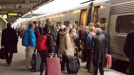 Boka resor för 95:- fast pris på IC/Regional och 195:- i Snabbtåg under april.