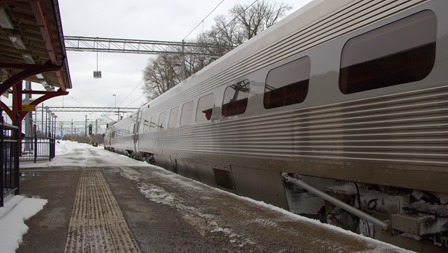 Tåget som jag lämnaxde i Katrineholm
