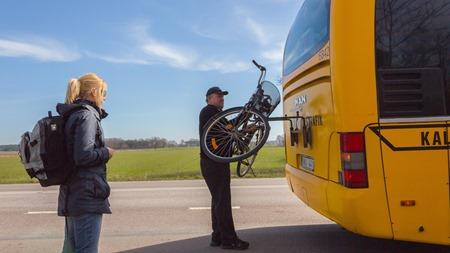 Cykel på buss inget problem