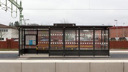 Perrongtak ut och vindskydd in - Men vilken station?