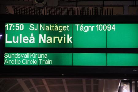 Arctic Circle Train - Bild tagen av tacksam läsare av min blogg