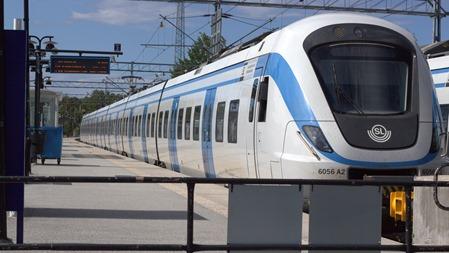 Skulle ta ännu en bild av detta tåg när det plötsligt stod en mann framför mig
