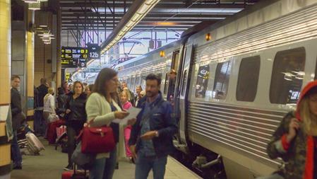 Framme i Stockholm i tid - med ett 6 timmar sent tåg