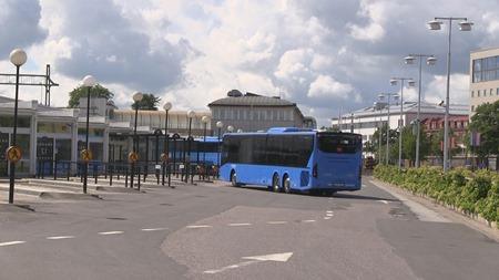 En av SKövdes måna nya fina bussar
