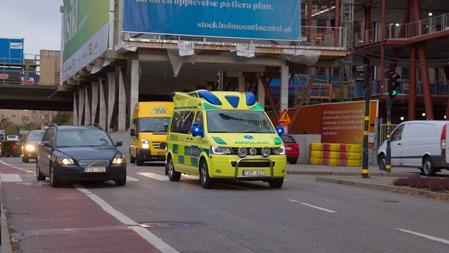 Ambulans på utryckning
