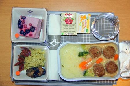 Meny 5: Köttbullar med potatispuré ( Foto: Bloggläsare )