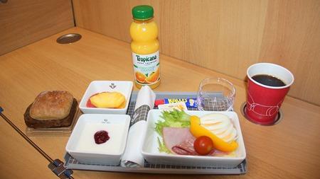 Ny storfrukost på SJs snabbtåg ( Foto: Bloggläsare )