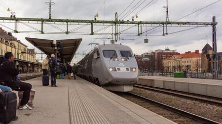 Tåg 579 i Gävle