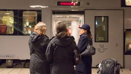 Resenärer i Skövde