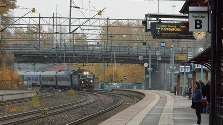 Fortsatt loktåg ( och buss ) till Oslo