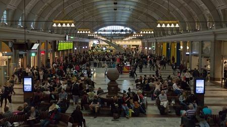 Resenärer som inte vill annat hellre än att åka tåg
