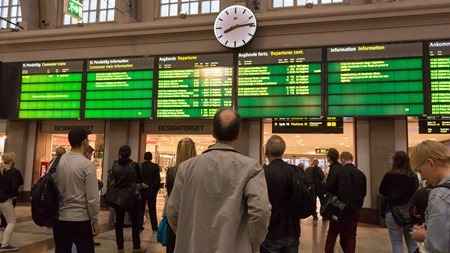 Undrar när och om mitt tåg går?