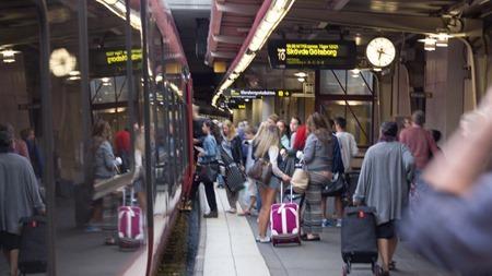 Förväntansfulla men kanske inte så många resenärer bokar MTR Express mot Göteborg
