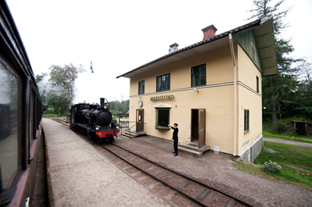 Marielunds stationshus ( Fotograf okänd )