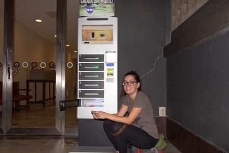 Nya laddningsstationer för mobiler på Stockholm C