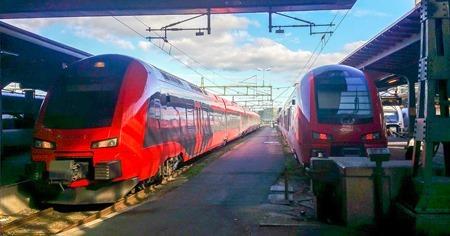 MTR Express i Göteborg ( Fotograf: Tågresenär )