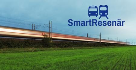 Ny bokningssite för tåg, buss mm - SmartResenär
