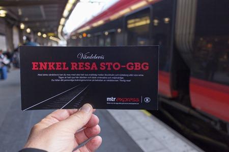 MTR Express delar ut gratisbiljetter