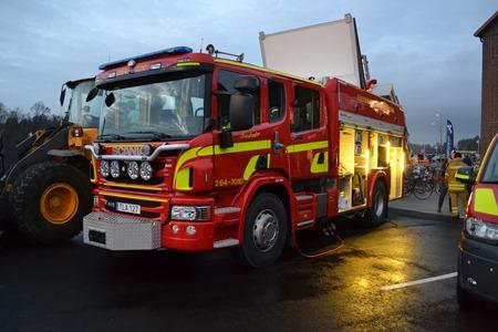 Båstad Brandkårs nya bil 8 dec 2015