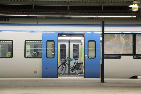 Cykel på SL-tåg ARONIA | Film, Haninge