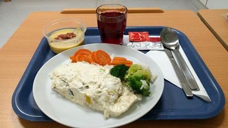 God sjukhusmat från Huddinge Sjukhus